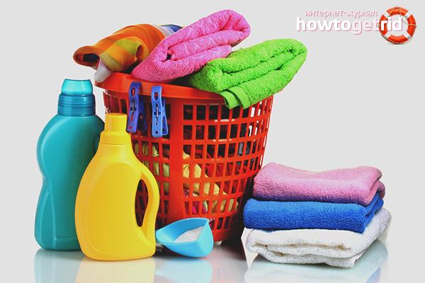 Wie man ein verblasstes Ding wäscht