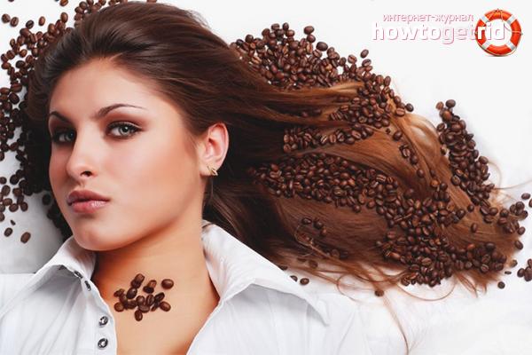 Cách nhuộm tóc cà phê