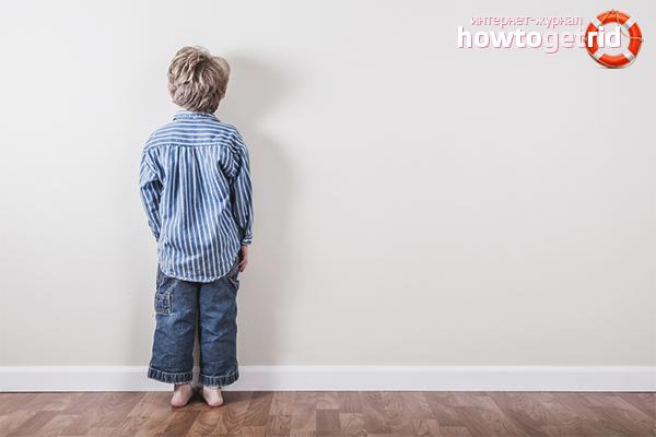 Wie man ein Kind bestraft