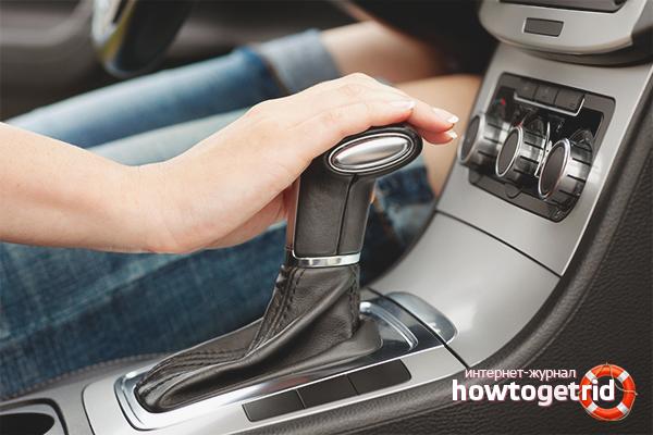 Kā pārbaudīt automātiskās transmisijas kārbu, pērkot automašīnu