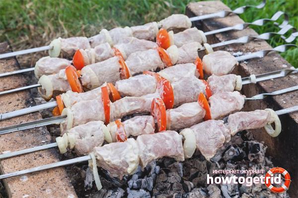 Kefir marinad för grillfest