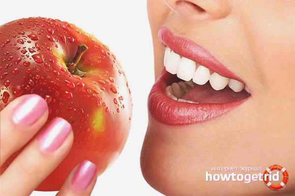 Alimentació dental saludable