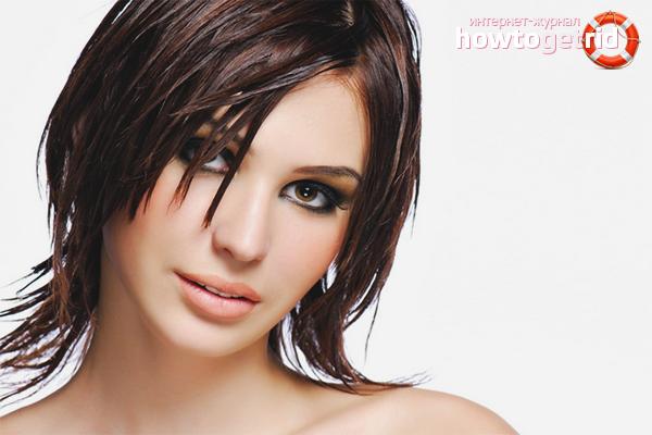 Rekommendationer för styling av oljigt hår