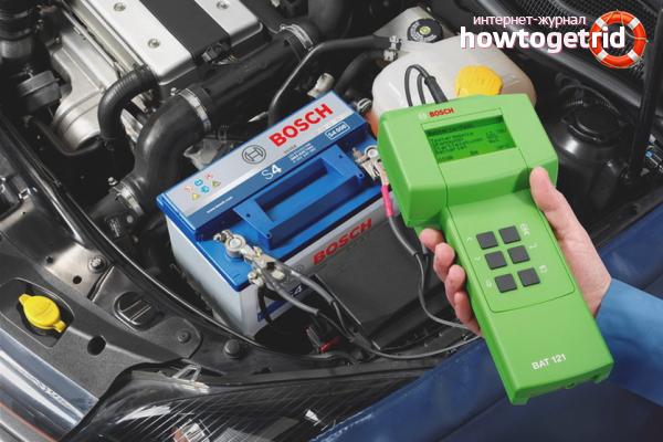 Como verificar uma bateria de carro
