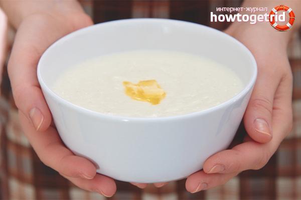 Wie man Grießbrei in Milch ohne Klumpen kocht