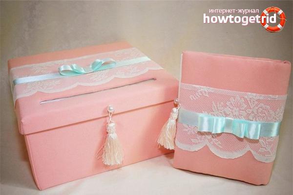 Box mit Geld für die Hochzeit