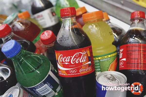 Kohlensäurehaltige Getränke aus Kalk