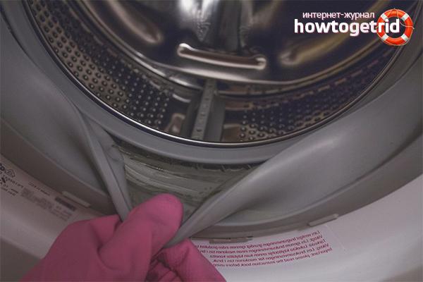 Hur man kan bli av med mögel i en tvättmaskin