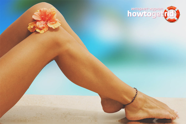 Com desfer-se de l'acne a les cames mètodes populars