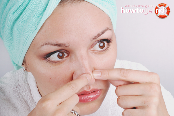 Com desfer-se dels puntets al nas