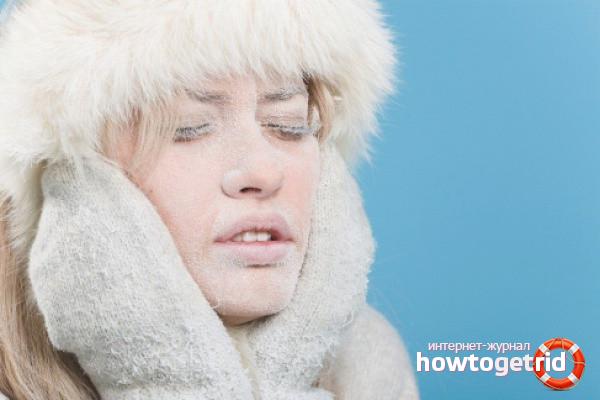 כיצד לטפל באלרגיה לקור
