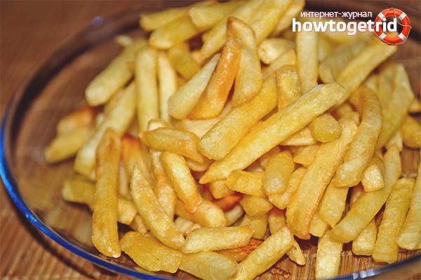 Com cuinar les patates fregides