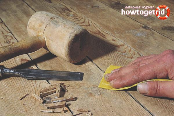 So entfernen Sie das Knarren eines Holzbodens
