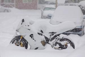 Com guardar una moto a l'hivern