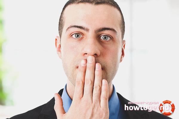 Cara menghilangkan bau alkohol dari mulut