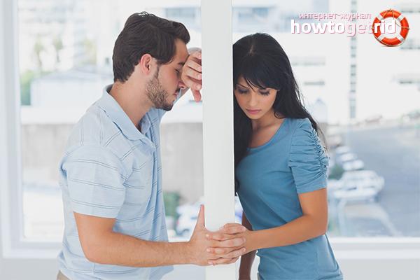 Wie man eine Beziehung mit einem verheirateten Mann beendet