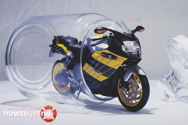 Motorrad Motorschutz