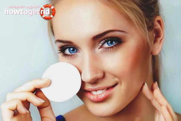Normes de maquillatge i higiene