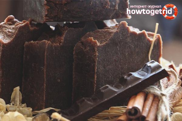 Honigseife mit Schokolade