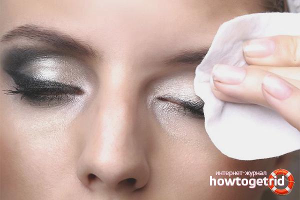Richtige Make-up-Entfernung