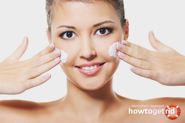 Ubat farmasi untuk bintik-bintik putih di wajah