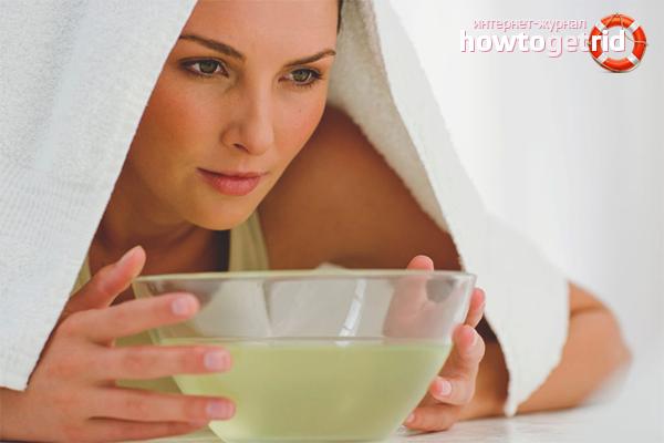 Hausmittel zur schnellen Behandlung einer Erkältung
