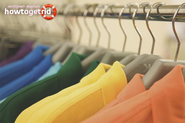 Wie man den Feuchtigkeitsgeruch auf der Kleidung loswird
