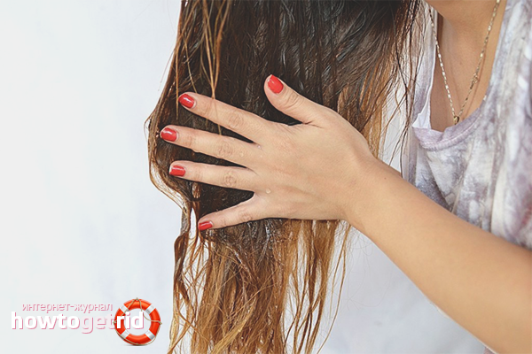 Como usar o óleo de cabelo de bardana