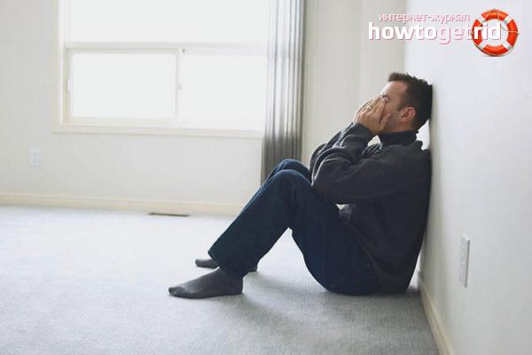 Com ajudar a un home a sortir de la depressió