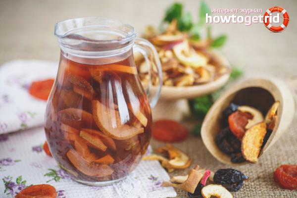 Ako pripraviť kompót zo sušeného ovocia