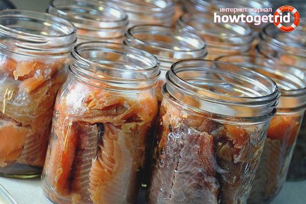 Kā pagatavot zivju konservus