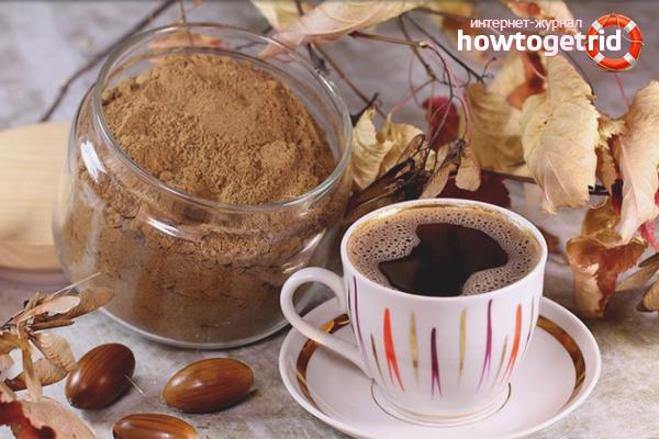 Acorn kafija caurejai