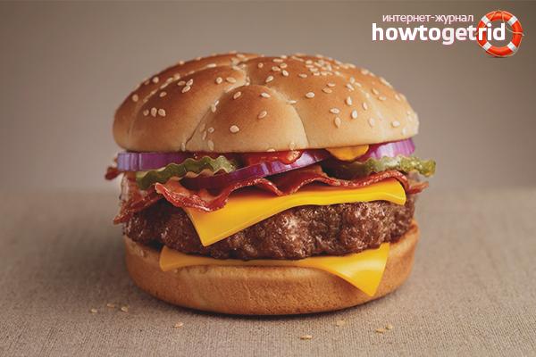 Pastırma hamburger