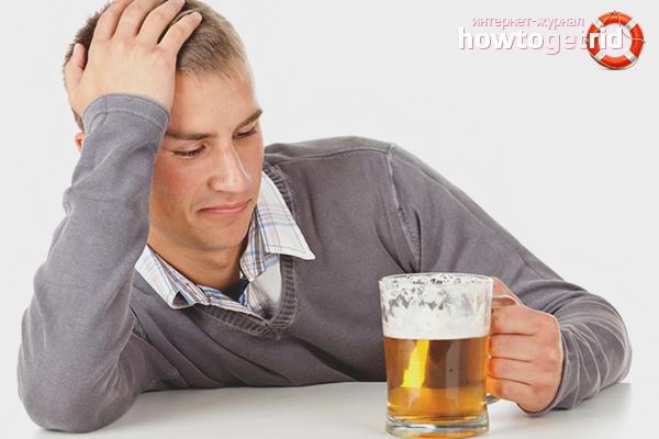 Cara berhenti minum bir