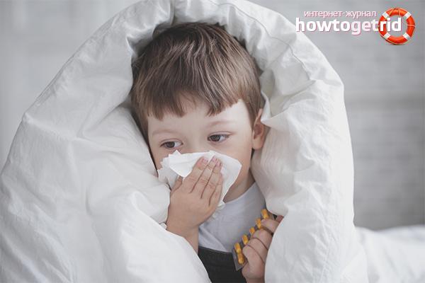 Kā ārstēt alerģisku klepu bērnam