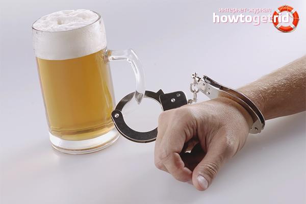 Cara berhenti minum bir sendiri