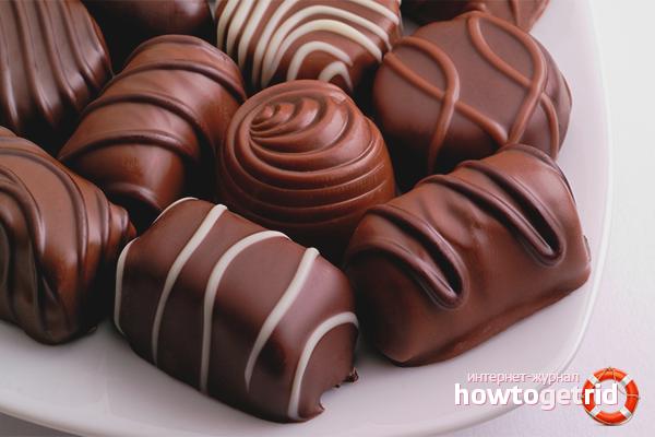Как се правят шоколади