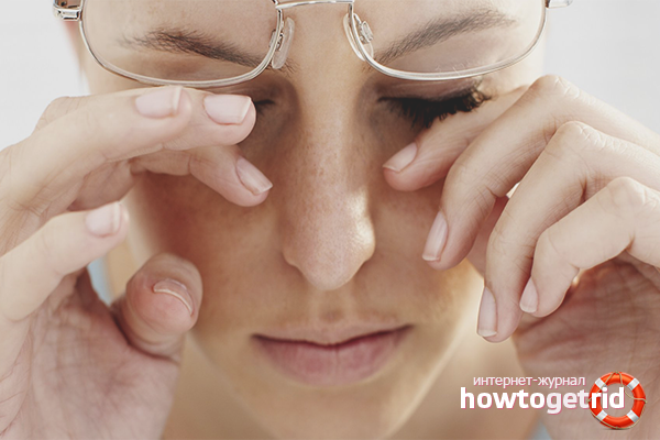 Como aliviar a pressão ocular