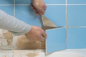 Како уклонити старе плочице са зидова купатила