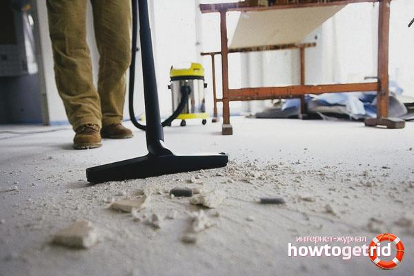Cara membersihkan pangsapuri selepas pembaikan
