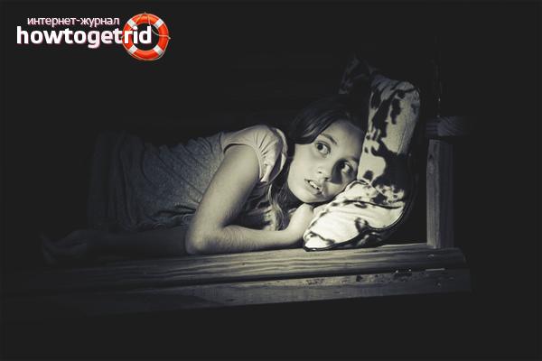 Com ajudar el vostre fill a desfer-se de la por a la foscor
