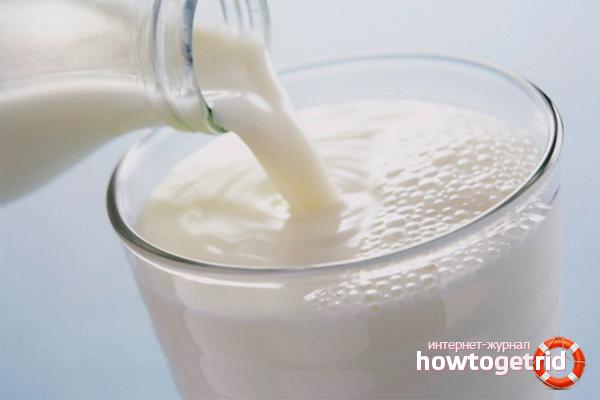 Przepisy na kaszel mleczny