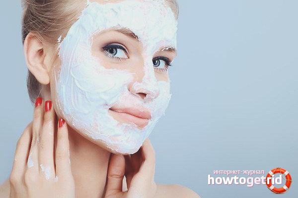 Màscares de l'acne casolà