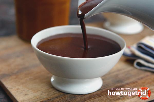Chocolate quente grosso