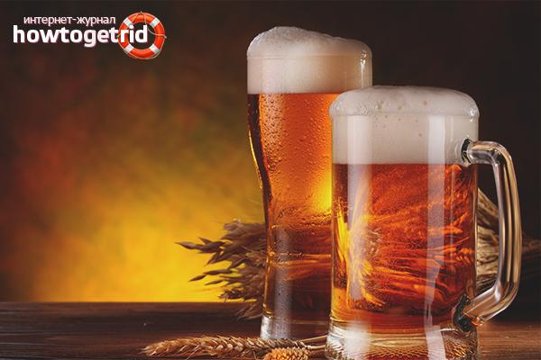 Cách uống bia