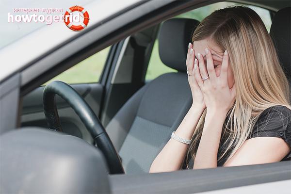 Cum să depășești teama de a conduce o mașină