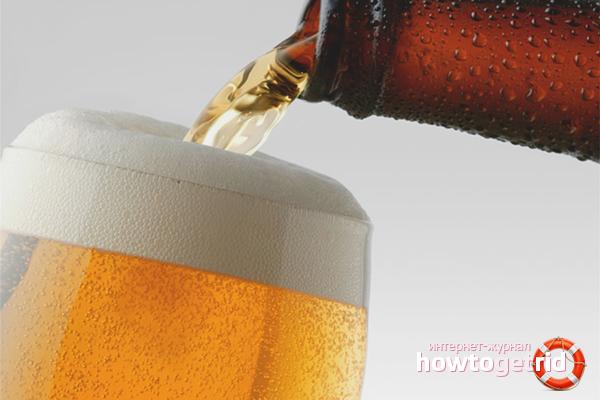 Cách rót bia