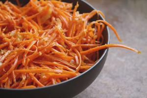 วิธีทำแครอทเกาหลี