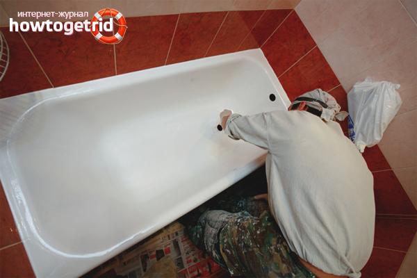 Kā atjaunot vannu