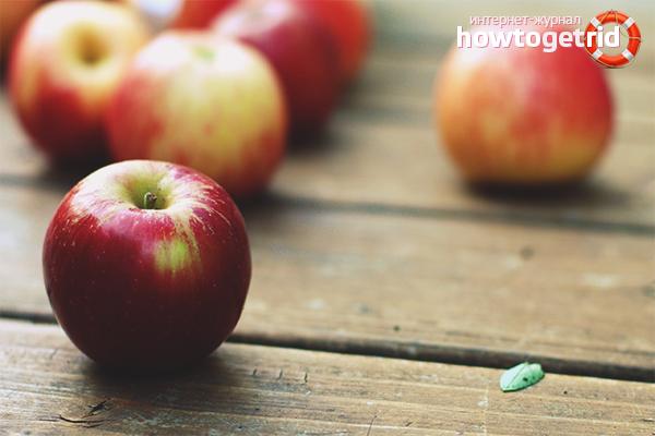 Com congelar les pomes per a l'hivern